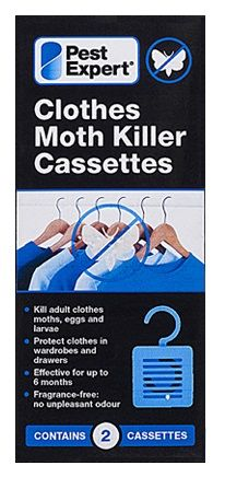 Clothes Moth Killer Cassettes from Pest Expert